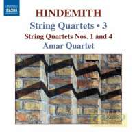 Hindemith: String Quartets Vol. 3 - Nos. 1 & 4