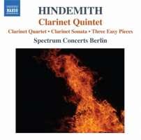 Hindemith: Clarinet Quintet, Clarinet Quartet, Clarinet Sonata, Three Easy Pieces