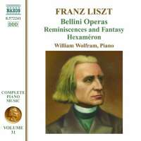 Liszt: Complete Piano Music Vol. 31 - Bellini Operas