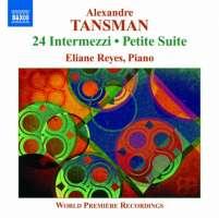 Tansman: 24 Intermezzi, Petite Suite, Valse-Impromptu