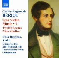 Beriot: Solo Violin Music Vol. 1 - 12 Scènes, Nine Studies