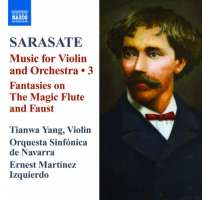 Sarasate: Music for Violin and Orchestra Vol. 3