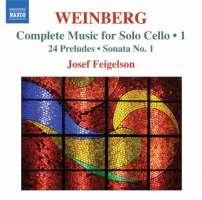 Weinberg: Music for Solo Cello Vol. 1 - 24 Preludes, Solo Cello Sonata No. 1