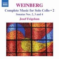 Weinberg:  Complete Music for Solo Cello  Vol. 2 - Sonatas Nos. 2 - 4