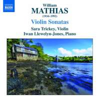 Mathias: Violin Sonatas