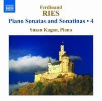 RIES: Piano Sonatas and Sonatinas Vol. 4