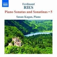 Ries: Piano Sonatas and Sonatinas Vol. 5