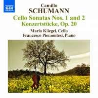 Schumann, C: Cello Sonatas Nos. 1 & 2, Konzertstücke