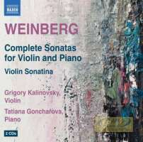 WEIBERG: Complete Sonatas for Violin and Piano; Violin Sonatina