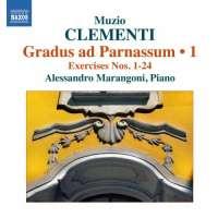 CLEMENTI: Gradus ad Parnassum Op. 44 - Volume 1: Exercises Nos. 1-24