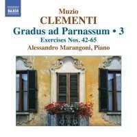 CLEMENTI: Gradus ad Parnassum 3, Exercises Nos. 42 - 65