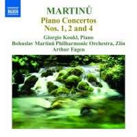 Martinu: Piano Concertos 2 - Nos. 1, 2 & 4