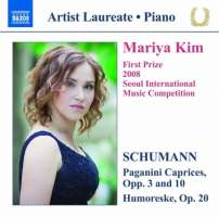Mariya Kim: Piano Recital - Schumann: Paganini Caprices, Humoreske