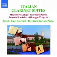 LONGO/BUSONI/SCONTRINO/FRUGATTA: Clarinet Recital