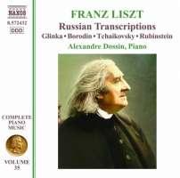 LISZT: Complete Piano Music Vol. 35 - Russian Transcriptions