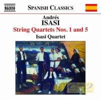 ISASI: String Quartets Vol. 3 - String Quartets Nos. 1 and 5