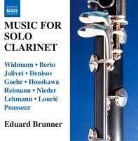 Music for Solo Clarinet - Widmann, Berio, Jolivet, Denisov, ...