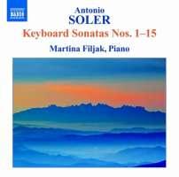 Soler: Keyboard Sonatas Nos. 1-15
