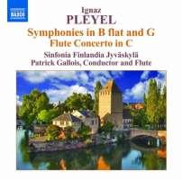 Pleyel: Symphonies, Flute Concerto