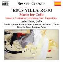 Villa-Rojo: Music for Cello