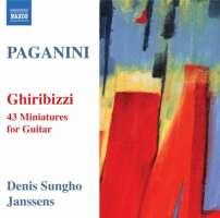 Paganini: Ghiribizzi - 43 Miniatures for Guitar