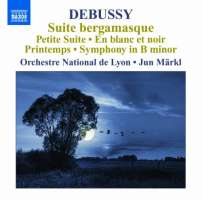 Debussy: Orchestral Works Vol. 6 - Suite bergamasque, Petite Suite, En blanc et noir, Printemps, Symphony in B minor