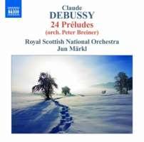 Debussy: Préludes (orch. Peter Breiner)