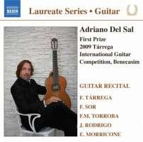 Guitar Recital - Adriano Del Sal: TÁRREGA / SOR / TORROBA / RODRIGO / MORRICONE
