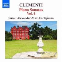 CLEMENTI: Piano Sonatas Vol. 4