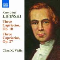 LIPIŃSKI 3 Capriccios Op. 10 & 3 Capriccios Op. 27