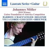 Johannes Möller: Guitar Recital - Barrios, Villa-Lobos, Regondi, Brouwer, ...
