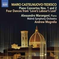 Castelnuovo-Tedesco: Piano Concertos Nos. 1 and 2, Four Dances