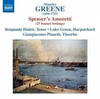 Greene: Spenser´s Amoretti (25 sonnet settings)