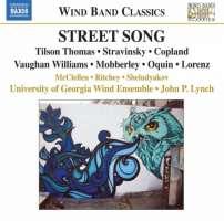 Street Song : Tilson, Thomas, Stravinsky, Copland, Vaughan Williams, Mobberley, ...
