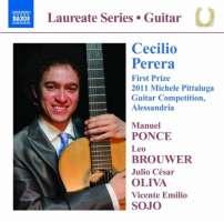 Cecilio Perera: Guitar Recital - Manuel Ponce, Leo Brouwer, J.C. Oliva, V.E. Sojo