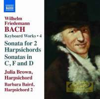 Bach Wilhelm Friedemann: Keyboard Works • 4 - Sonata for 2 Harpsichords, Sonatas