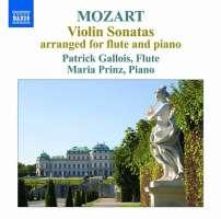 Mozart: Violin Sonatas arranged for flute and piano