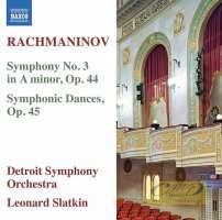 Rachmaninov: Symphony No. 3, Symphonic Dances
