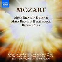 Mozart: Missa Brevis K. 194, Missa brevis K. 275, Regina coeli K. 127