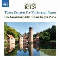 Ries: 3 Sonatas for Violin and Piano