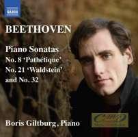 Beethoven: Piano Sonatas Nos. 8, 21 and 32