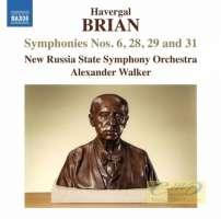 Brian: Symphonies Nos. 6, 28, 29 and 31