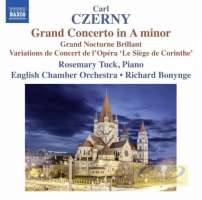 Czerny: Grand Concerto in A minor; Grand Nocturne Brillant; Variations