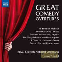 Great Comedy Overtures - The Barber of Baghdad,  Donna Diana, Fra Diavolo, Martha Mignon