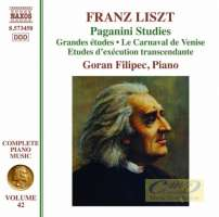Liszt: Complete Piano Music Vol. 42 - Paganini Studies