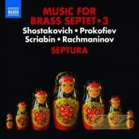 Music for Brass Septet Vol. 3 - Shostakovich, Prokofiev, Scriabin, Rachmaninov