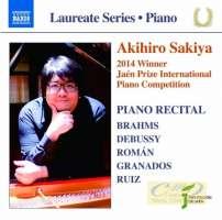 Piano Laureate Recital - Brahms, Debussy, Roman, Granados