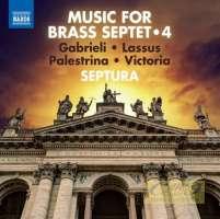 Music for Brass Septet 4 - Victoria, Gabrieli, Palestrina, Lassus