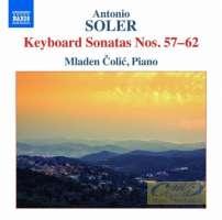 Soler: Keyboard Sonatas Nos. 57 - 62