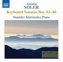 Soler: Keyboard Sonatas Nos. 63-66
